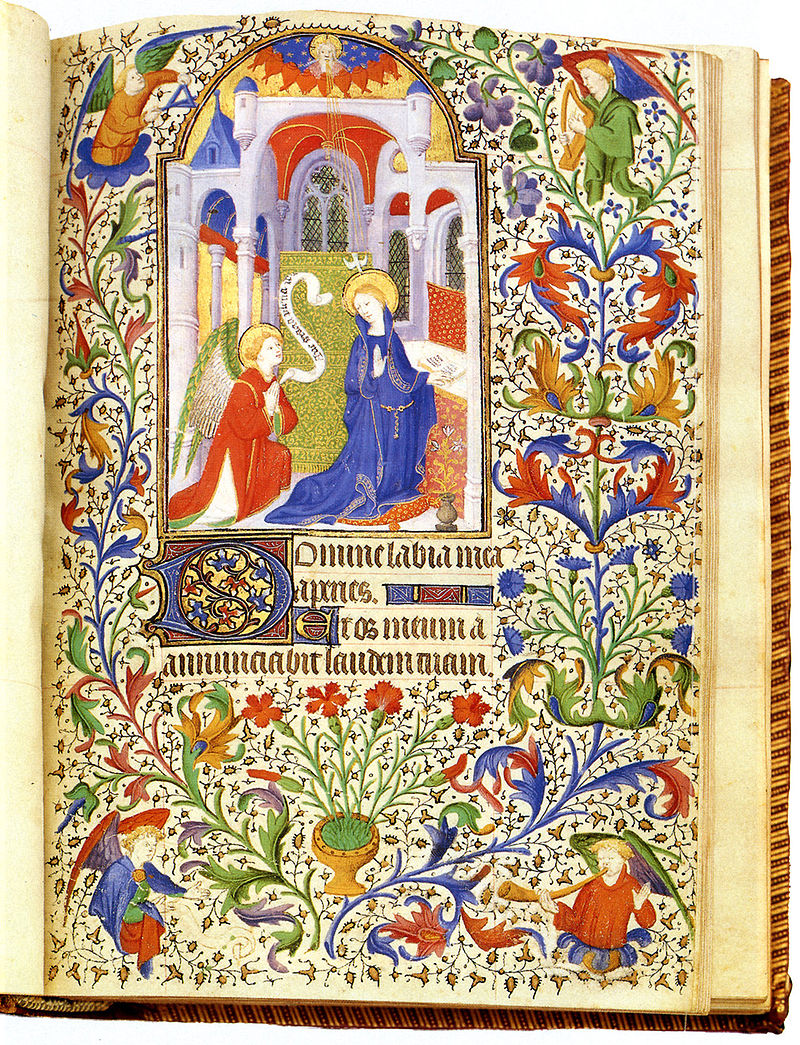 Luke Illuminated Manuscript